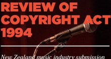 The New Zealand Music Industry Submission to the Copyright Act Review