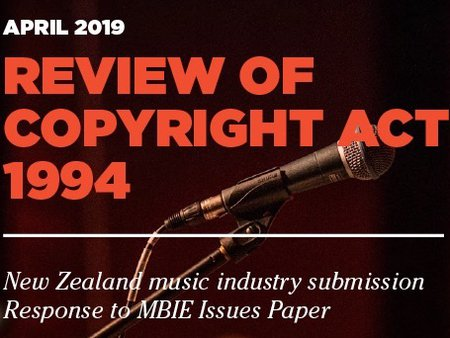 The New Zealand Music Industry Submission to the Copyright Act