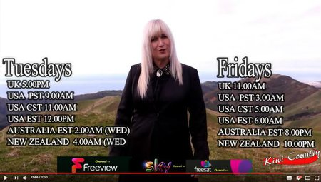 Taking Kiwi Country Music to the World on UK TV This Week